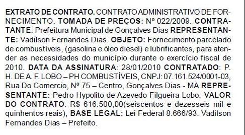 Diário Oficial dos Municípios do Maranhão