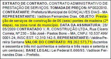 O Homem da ponte; Jornal Oficial dos Municípios do Maranhão, edição N° 523.