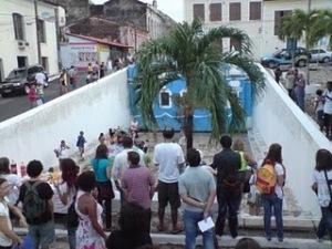 Atual Fonte do Ribeirão - Foto Professor Francisco Araújo