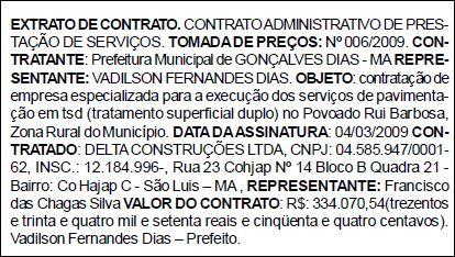 Diário Oficial dos Municípios edição n.°403