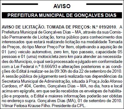 Diário Oficial dos Municípios edição N.º 489