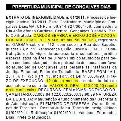 Jornal Oficial dos Munícipios do Maranhão edição N.°586