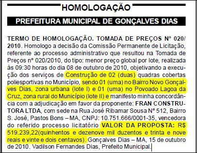 Jornal Oficial dos Municípios edição N.°586