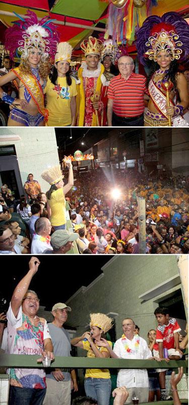 Jeito Roseana Sarney de governar o Maranhão, afinal de contas ninguém tem culpa do carnaval ter coincidido com as enchentes...