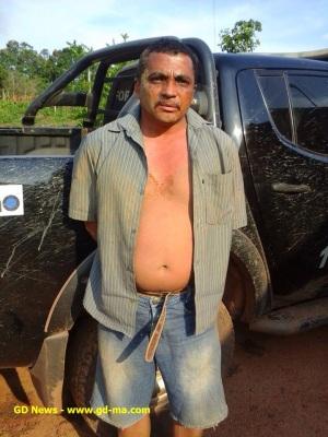 Francisco Paulo Ribeiro, suspeito de liderar a quadrilha que levou a cabo o roubo milionário do Banco do Brasil de Gonçalves Dias.