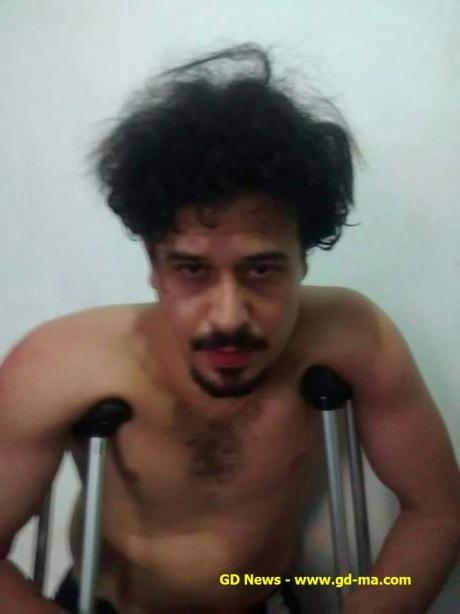 Rogério Ferreira, estava foragido e tinha dois mandados de prisão contra ele.